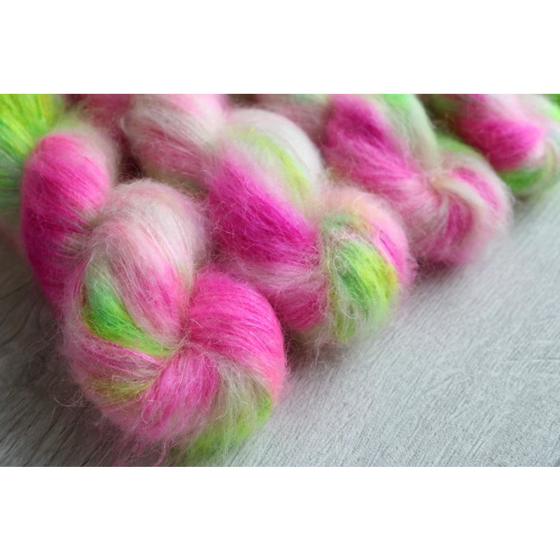Lace Kidmohair Silk - Candy Floss