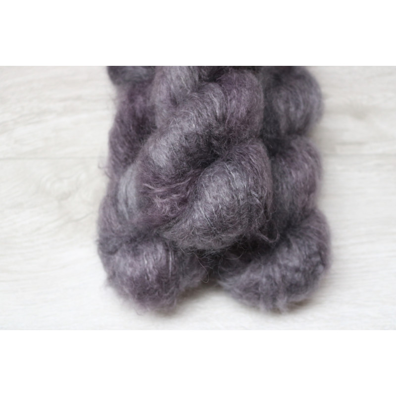 Big Mohair - OOAK Silver Blue